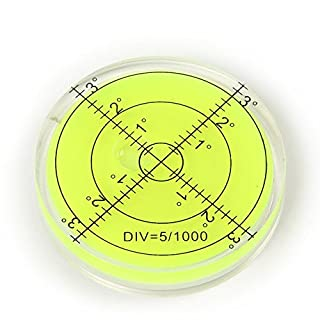 Large Bullseye Bubble Spirit Level 65mm Circular Vial