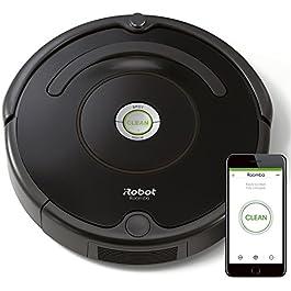 iRobot Roomba 671 Robot aspirapolvere WiFi, Adatto a tappeti e Pavimenti, Tecnologia Dirt Detect, Sistema 3 Fasi, 58 dB…