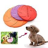 Naturgummi Hundefrisbee, NNIUK Dog Disc/ Hunde Frisbee/ schwimmende Wasser Hundespielzeug/ schwimmfähige Frisbee Hund/ Dog Frisbee Disc - das beste Geschenk für Ihre schöne Haustier, Farbe zufällig.