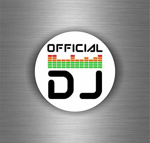Akachafactory Aufkleber Sticker Auto Motorrad Biker DJ Offiziellen Platin Musik Platin-musik