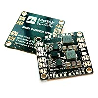 Matek PDB Power Distribution Board 5V 12V BEC Output Support 3S-6S Battery for FPV Racing Drone Mini Quadcopter (36mm*36mm Version 3.1) by Crazepony-UK from Crazepony-UK