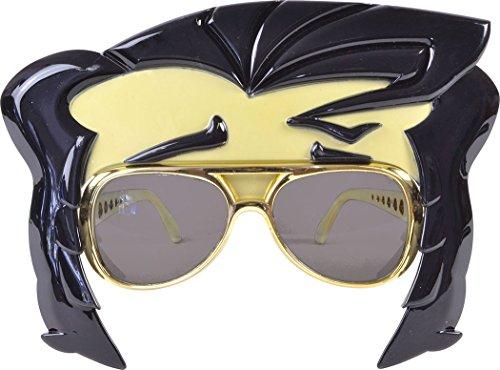Kostüm Zubehör Star Rock - onlyglobal Verkleidung Kostümparty Elvis Kostüm Zubehör 1950s Jahre 1960s Jahre Rock Star Brillen + STIRNLOCKE