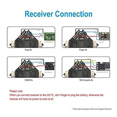 BETAFPV 2S F4 FC AIO Brushless Flight Controller No RX ESC OSD Smart Audio for 2S Brushless FPV Whoop Drone Beta75 Pro 2 Beta65 Pro 2 Beta75X Beta65X
