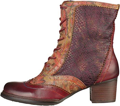 Laura Vita Damen Alexia 15 Stiefel Rot(Weinrot)