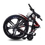 KVIONE-E9-27-Mountain-Bike-Unisex-29-Pollici-MTB-Mountain-Bicycle-Bicicletta-Pieghevole-in-Acciaio-al-Carbonio-con-27-velocit-Freno-a-Disco