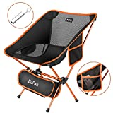 BuFan Camping Chair Portable Outdoor Compact Ultralight Folding Chairs for Fishing Beach Hiking