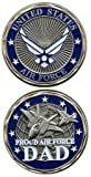 """Best Dad Coins - U.S. Air Force """"Proud Air Force Dad"""" Challenge Review"""