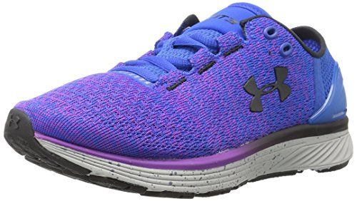 Under Armour Damen Charged Bandit 3 Laufschuhe, Blau/Lila, 39 EU