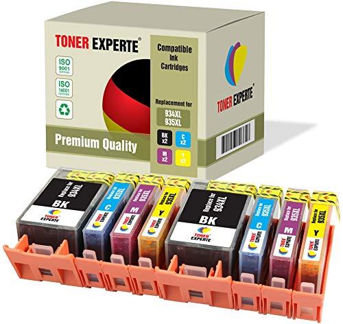 8 XL TONER EXPERTE Sostituzione per HP 934 XL 935 XL 934XL 935XL Cartucce d'inchiostro compatibili con HP Officejet Pro 6220 6230 6812 6815 6820 6825 6830 6835 (2 Nero, 2 Ciano, 2 Magenta, 2 Giallo)