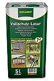 Ultrament Vollschutz-Lasur 7-in-1, eiche, 5l