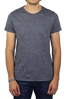 Hilfiger Denim Men's Tjm Basic Cn Knit S/S 25 T-Shirt