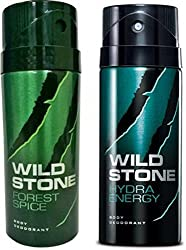Wild Stone Forest Spice And Hydra Energy Combo Set��(Set Of 2)