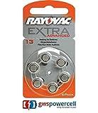 Rayovac Extra Advanced Hörgeräte Batterien 1,4V 290mAh PR48 Typ 13 - 6er Blister (Nr. 13 Extra Advanced 6er Blister, 1x)