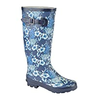 Woodland Womens/Ladies High Leg Wellington Boot