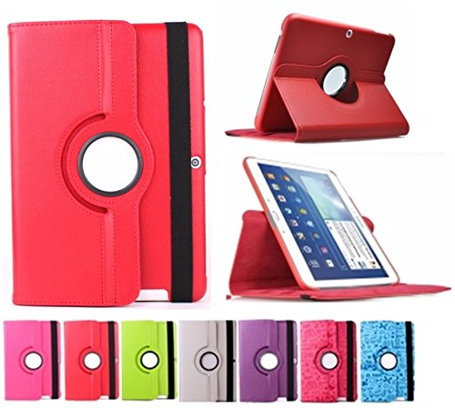 Funda giratoria para Tablet Bq Edison 3 Quad Core 10.1' Color: Rojo