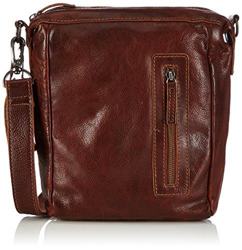 Cowboysbag Hobbs 1536 Unisex-Erwachsene Schultertaschen 21x29x6 cm (B x H x T) Braun (Cognac 300)