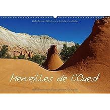 Merveilles de l'Ouest / BE-Version (Calendrier mural 2015 DIN A2 horizontal): Impressions des paysages naturels uniques de L'Ouest américain (Calendrier mensuel, 14 Pages) (CALVENDO Nature)