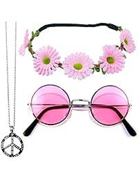 41d1da42e41a Suchergebnis auf Amazon.de für  Hippie-Brille  Bekleidung