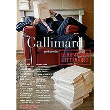 Extraits gratuits - La rentrée littéraire Gallimard 2013 (French Edition)