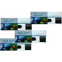 PACK 4 UNIDADES Toner compatible HP CB435A / CB436A / CANON 712 / CANON 713 para HP LaserJet P1005 P1006 P1505 P1505N M1120 M1120N M1522N M1522NF Canon LBP3010 LBP3100 LBP3018/3108/3050/3150/3010/3100 LBP3250
