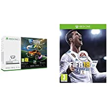 Xbox One S - Consola 500 GB + Rocket League + FIFA 18 - Edición estándar