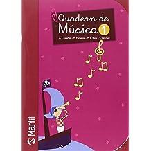 Quadern de Música - 1 (Educación Primaria) - 9788426815156