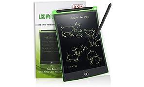 Tableta de Escritura LCD 8.5 Inch NEWYES Gráfica Dibujo Tablero Oficina Touch Pad Magnéticos Pizarra Para la Nevera Memo Pad Electrónico con Lápiz Para Niños adulto Oficina Escuela (verde)