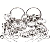 ARD Accessories Stainless Steel Best Quality Premium Range Of Dinner Set 24 Pcs Stainless Steel Dinner Set (kitchenSet_24pcs_01)