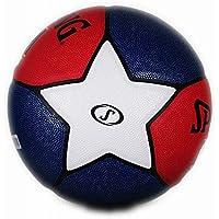 CN Baloncesto No. 7 Fancy Colour Student Outdoor NBA Cement Wearable Blue Ball,Rojo,Numero 7