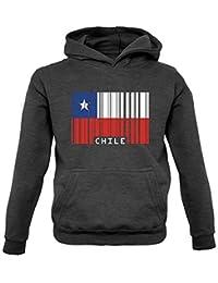 Dressdown CHILE Código Barras Estilo Bandera - Infantil/Sudadera infantil-9 COLORES - Edad