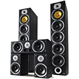 Sistema HiFi Bass Lover con recibidor Home Cinema Surround, Set de Altavoces y Cables