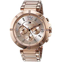 Tommy Hilfiger Damen-Armbanduhr Analog Quarz Edelstahl beschichtet 1781533