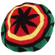 1aaebf4cd07d0 DiiliHiiri Gorro Rasta Rastafari Jamaica para Mujer o Hombre