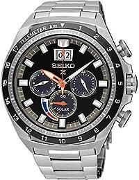 Seiko Reloj Cronógrafo para Hombre de Energía Solar con Correa en Acero Inoxidable SSC603P1