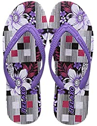 Relaxo Plus Women's Purple White Flip-Flops-5 UK (38 EU) (RP0018L_PLWH0005)