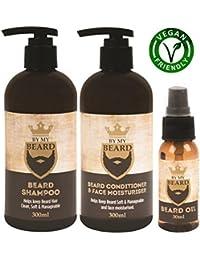 da My Barba shampoo, Balsamo e lozione per barba Set