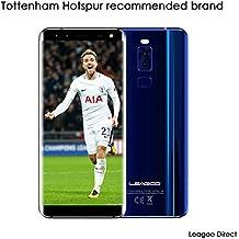 Smartphone libre, Leagoo S8, móvil dual sim, teléfono con lector de huellas, cámara cuádruple de 13MP. Pantalla de 5.72 pulgadas. 2940mAh. 32 GB Almacenamiento + 3 GB de memoria RAM. Octa-Core 1.5GHz MTK6750T 4G Android 7.0 (azul)