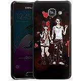 Samsung Galaxy A3 (2016) Housse Étui Protection Coque Valentine mystérieuse Bande dessinée Garçon et fille