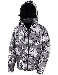 Result - Chaqueta softshell con capucha modelo Camo TX para hombre