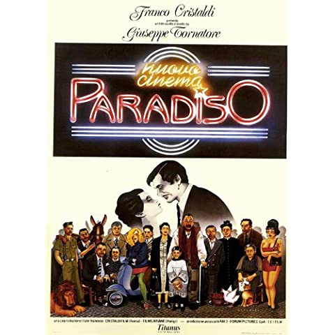 Cinema Paradiso: The New Version Poster (27 x 40 Inches - 69cm x 102cm) (1988)