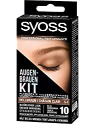 Syoss Augenbrauen-Kit 5-1 Hellbraun, 1er Pack (1 x 17 ml)
