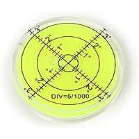 Grand Bullseye Fiole Niveau à bulle circulaire 65mm