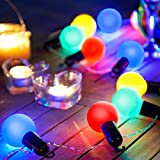 Gardenkraft 62150 LED-lampen, party, timerlicht, op batterijen, meerkleurig, 20 stuks