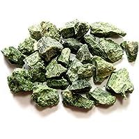 Deko-Stein Rohstein Diopsid grün 3-4 cm 1 Kg preisvergleich bei billige-tabletten.eu