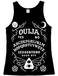 The Dead Generation Ouija Board Ladies Vest Top - Occult Gothic Alternative Clothing by Luna Cult