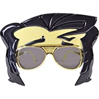 bbb719cd348 Fancy Dress Party Costume Accessory 1950s 1960s Rock Star Glasses + Quiff