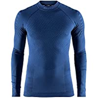 CRAFT Active Intensity Slip RAS Cuello Manga Larga–Camiseta de Running para Hombre, Hombre, Color Maritime, tamaño FR: M (Talla Fabricante: C: M)
