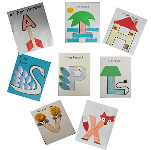 Colour and Craft with Alphabets by Digitox Kits