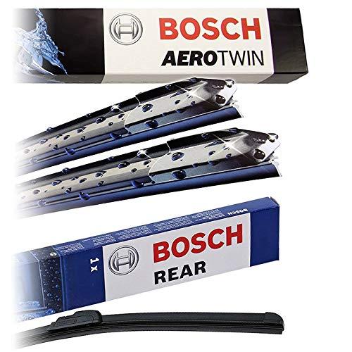 Preisvergleich Produktbild Set Bosch Wischer Wischerblatt Wischerblätter Scheibenwischer Scheibenwischerblätter Aerotwin A430S + Heckwischer Heckwischerblatt Heckscheibenwischer A330H