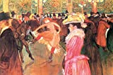 1art1 118795 Henri De Toulouse-Lautrec - Tanz Im Moulin